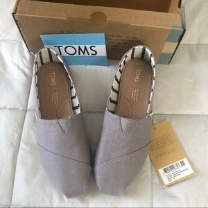 Toms Classic Morning Dove Heritage Canvas, 7.5 NWT